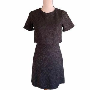 Top shop Black Lace Popover Dress. Sz. 4